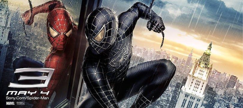 Spider-Man och hans antihjälte i Spider-Man 3