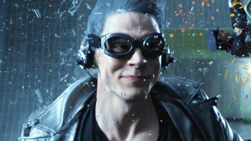 """Stillbild på Evan Peters i rollen som """"Quicksilver"""" i """"X-Men: Days of future Past""""."""