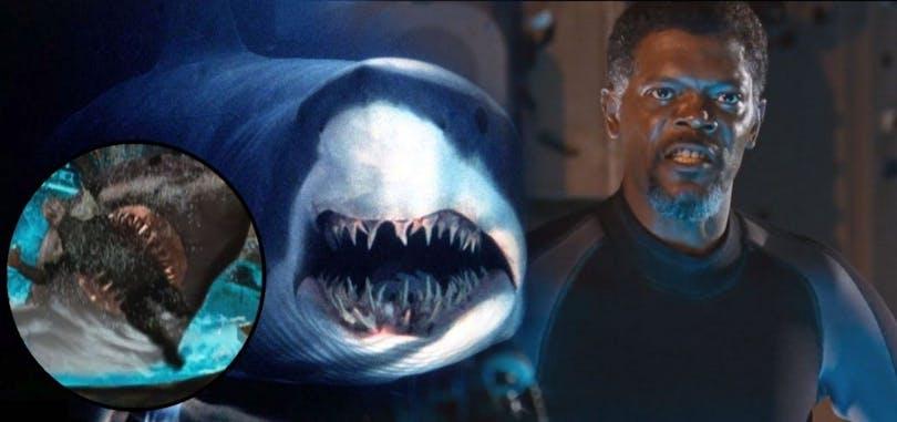 Samuel L. Jackson I filmen Deep Blue Sea