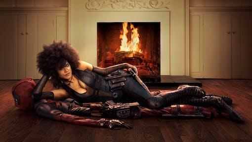 """Bild på Domino i """"Deadpool 2"""""""