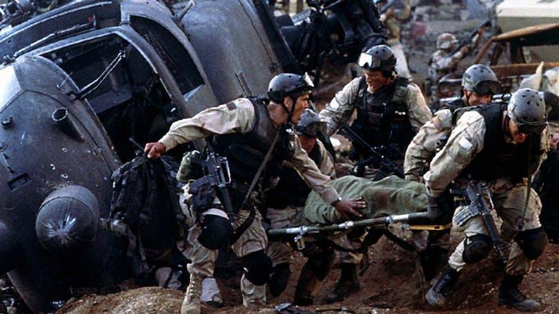 Från Black Hawk Down- På vår lista med bra krigsfilmer