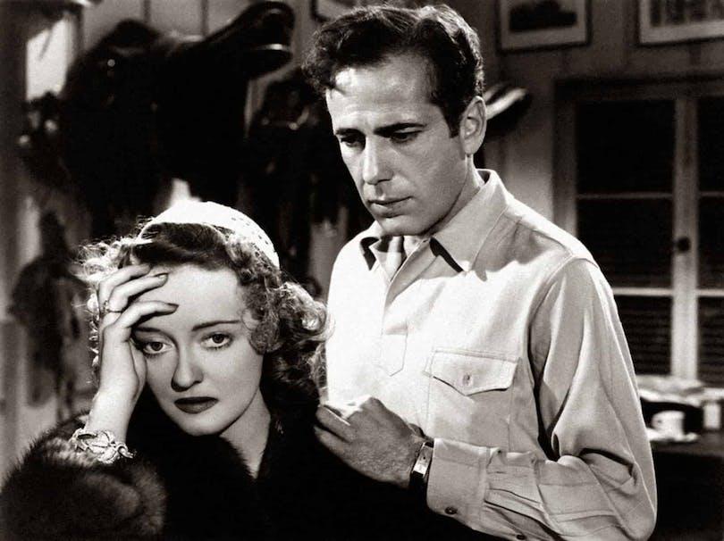 """Bette Davis och Humphrey Bogart i """"Dark Victory"""""""