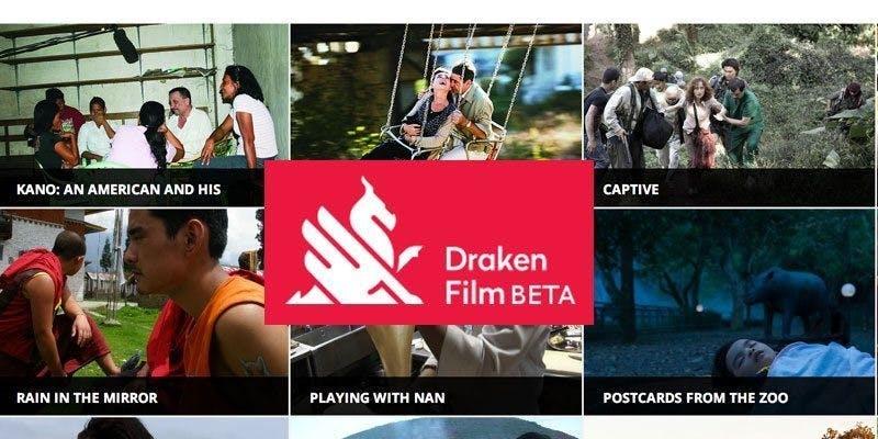 Streamingtjänsten Draken Film poster