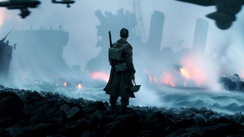 Poster till Christopher Nolans kommande film Dunkirk (2018)