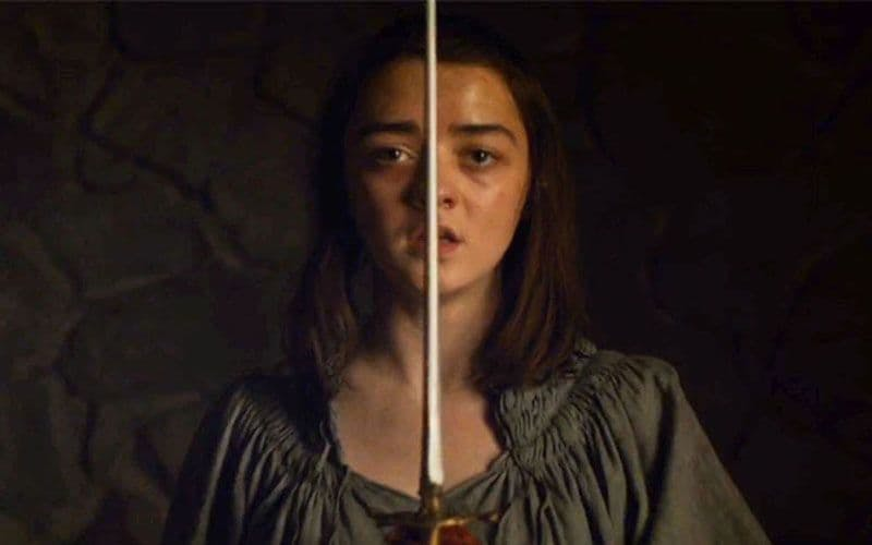 Maisie Williams i Game of Thrones