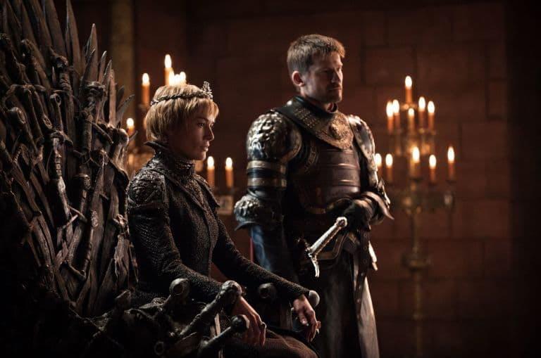 Lena Headey och Nikolaj Coster-Waldau i Game of Thrones
