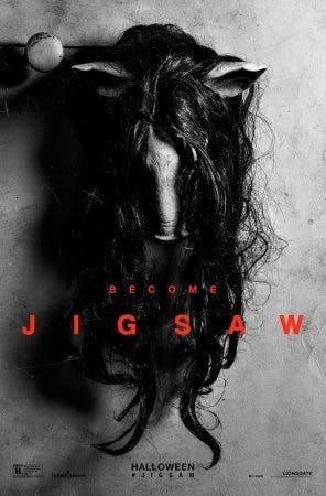 Ny poster till filmen Jigsaw.