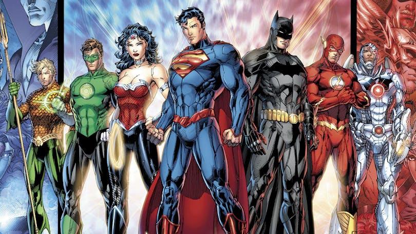 Flera hjältar från DC:s universum