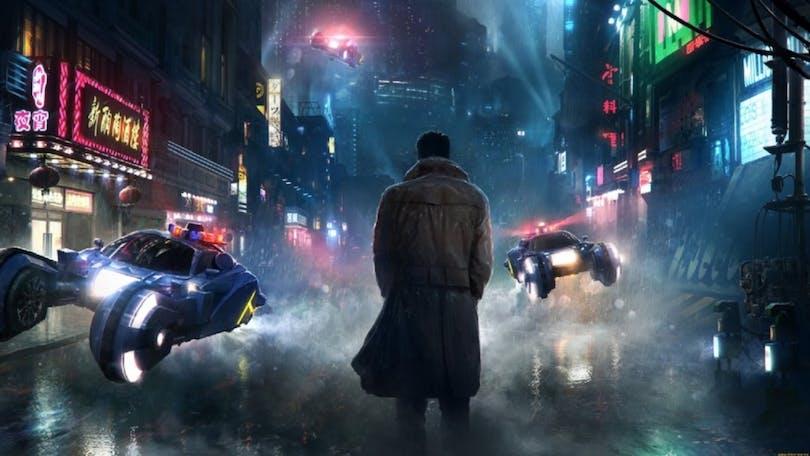 Bild från filmen Blade Runner.