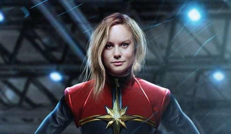 Brie Larson porträtterar som Captain Marvel