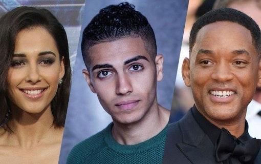 Aladdin har funnit sina tre huvudpersoner!
