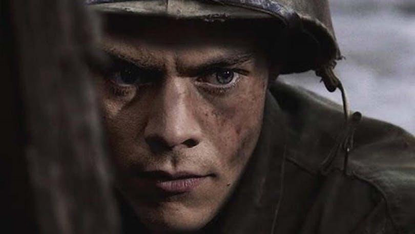 "Harry Styles som soldat i ""Dunkirk"""