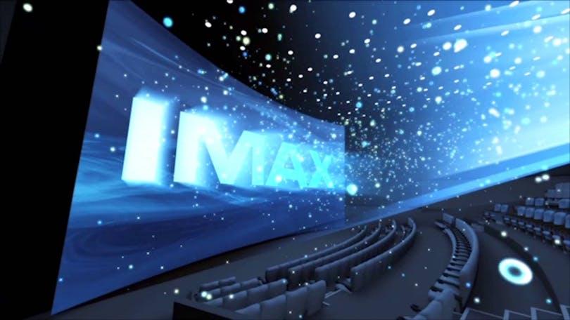 En 3D-effekt på IMAX-biograf