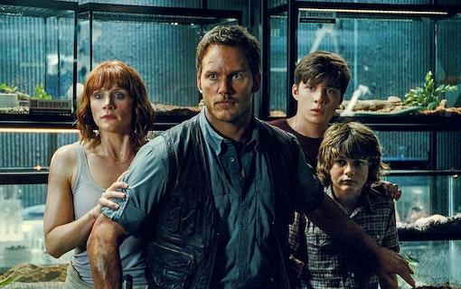 Chris Pratt är supertaggad på Jurassic World 3