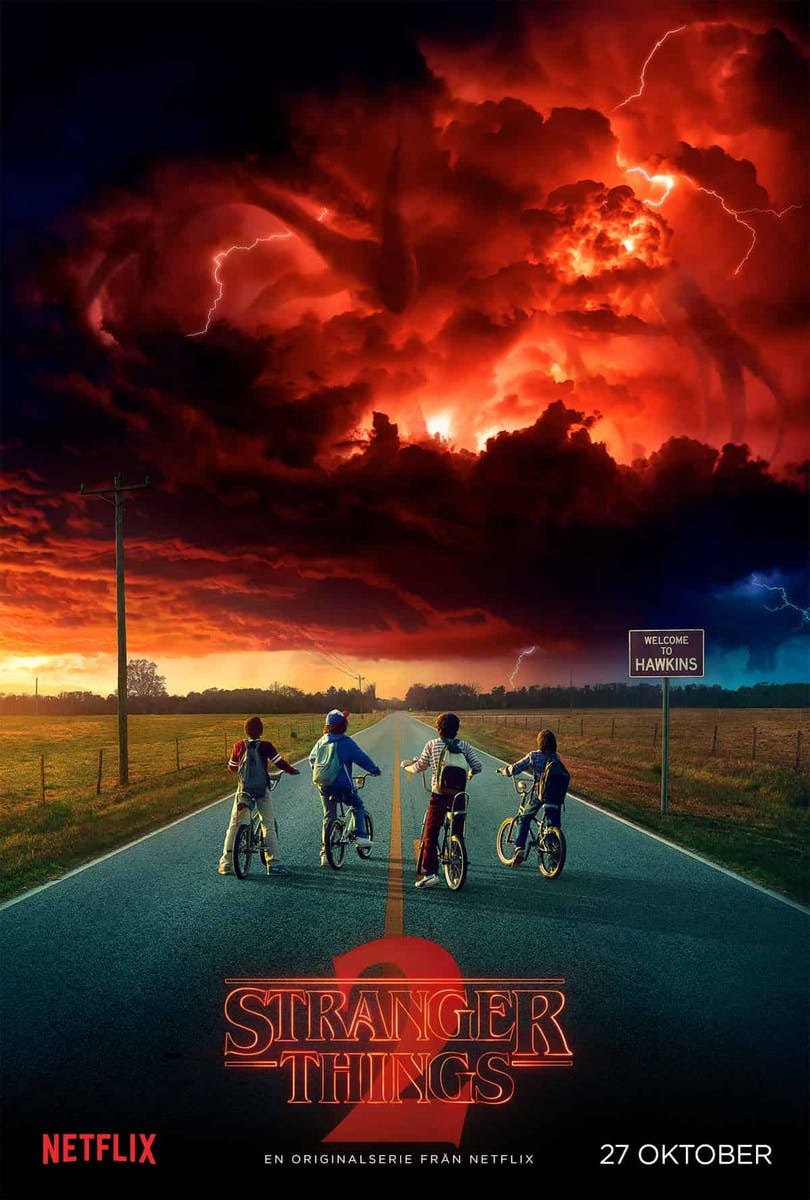 Poster till Stranger Things säsong 2