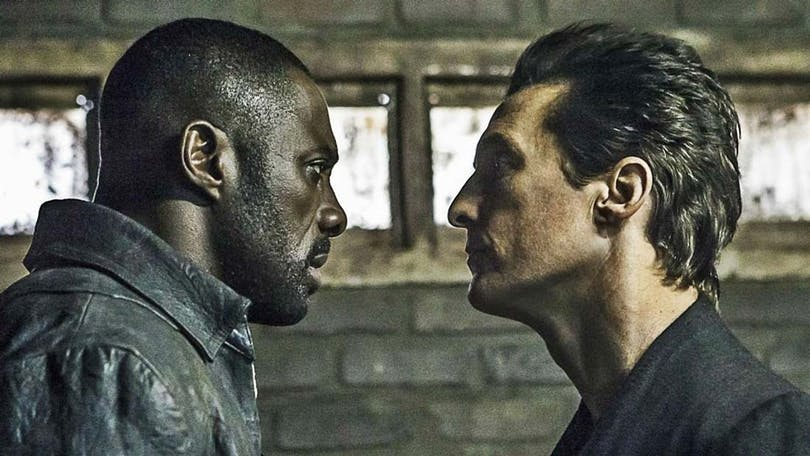 "Idris Elba och Matthew McConaughey i ""The Dark Tower"""
