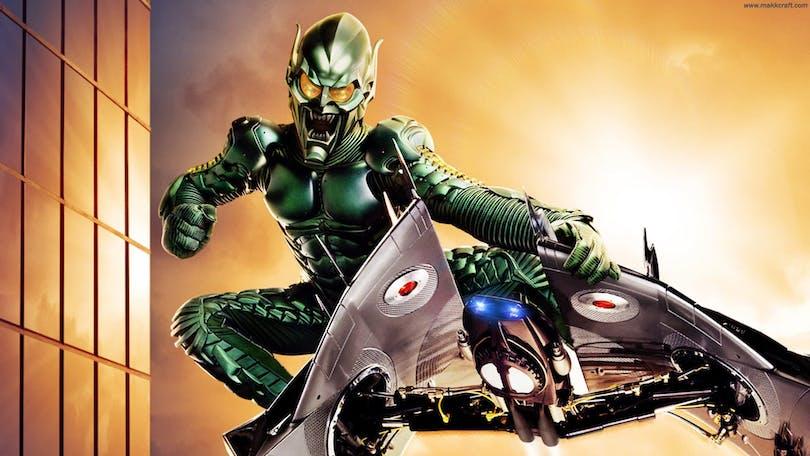 Green Goblin flyger