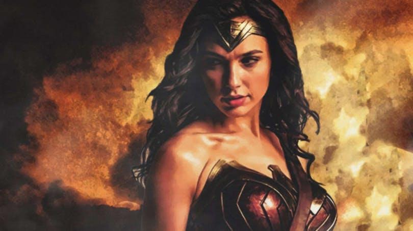 Poster till filmen Wonder Woman.