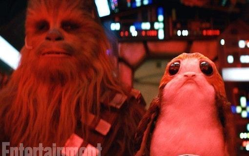 """Bilder från filmen """"The Last Jedi"""""""
