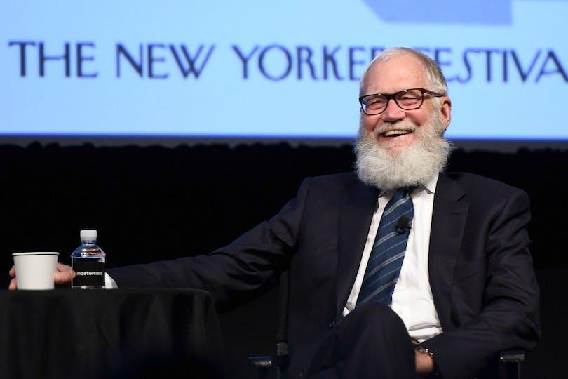 Bild på David Letterman.