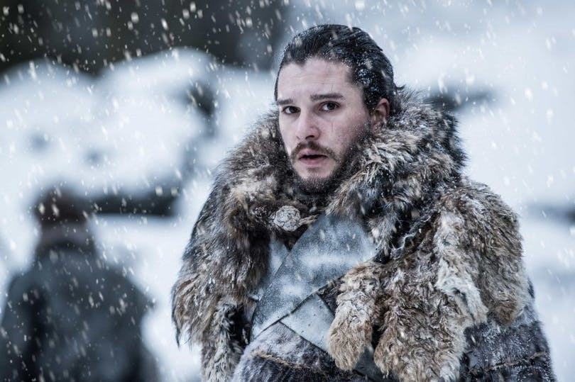 Kit Harington som Jon Snow i Game of Thrones