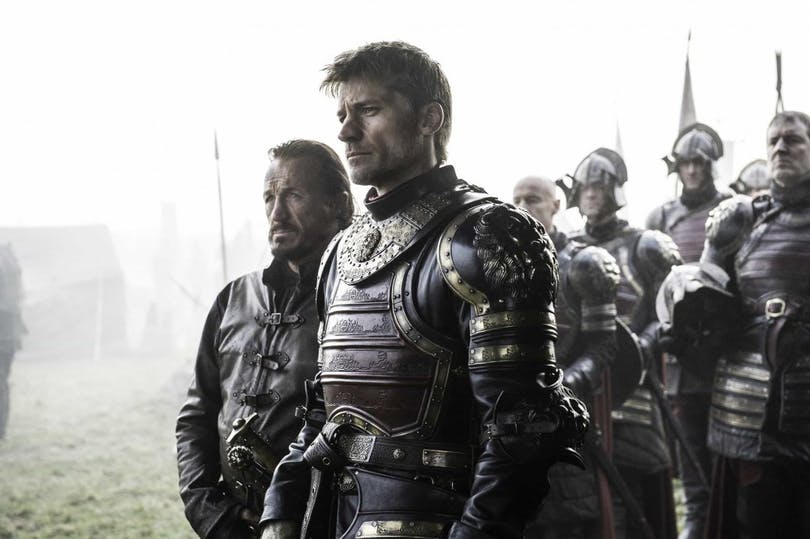Nikolaj Coster-Waldau och Jerome Flynn i GAme of Thrones
