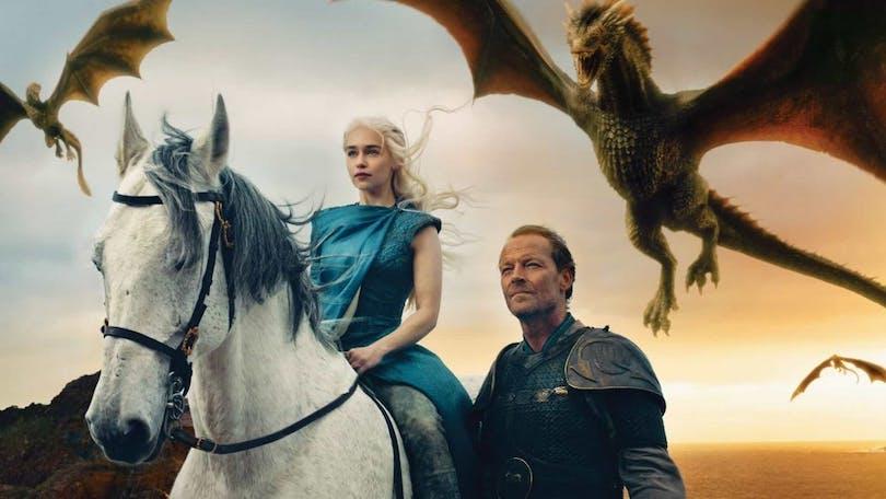 Stillbild ur Game of Thrones.