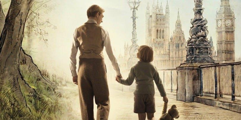 En poster till filmen Goodbye Christopher Robin.