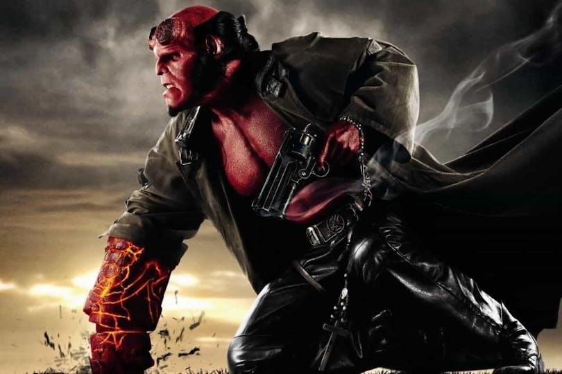 Framsidan till Hellboy 2