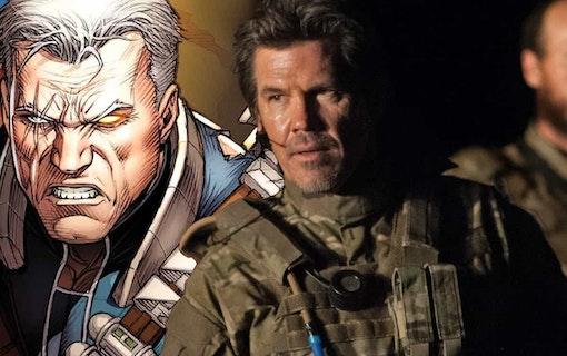 """Bilder på Josh Brolin i """"Deadpool 2"""""""