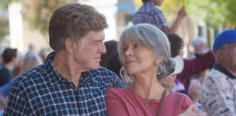 """Bild på Robert Redford och Jane Fonda i """"Our Souls at Night"""""""