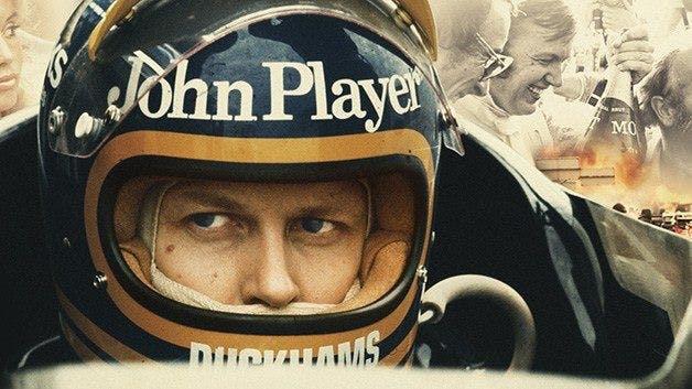 Ronnie Peterson i sin hjälm