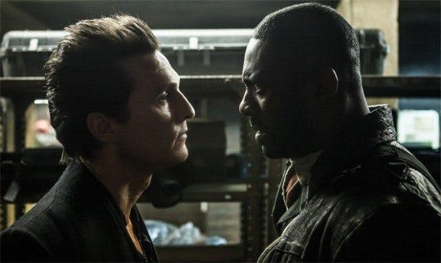 "Matthew McConaughey står ansikte mot ansikte mot Idris Elba i ""The Dark Tower"""