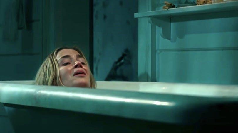 Emily Blunt i den kommande skräckfilmen A Quiet Place