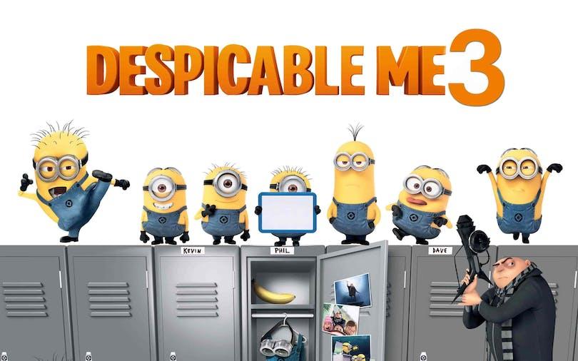 Poster från filmen Despicable Me 3.