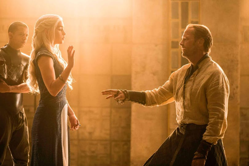 Jorah Mormont och Daenerys