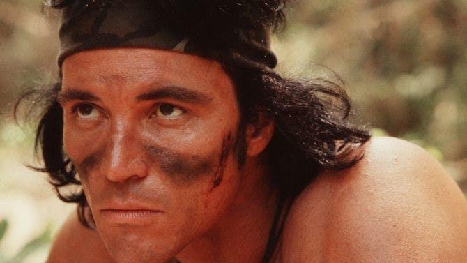 "Sonny Landham i filmen ""Predator"""