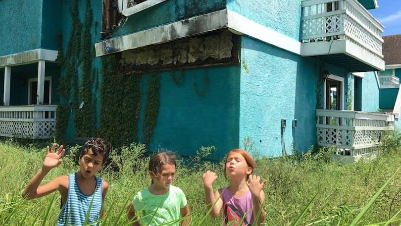 """Tre barn från filmen """"The Florida Project"""""""