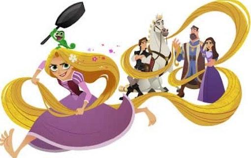 Nu får Rapunzel en egen serie hos Disney