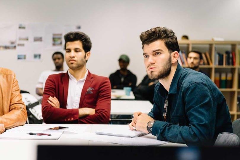 Bild från ett SFI-klassrum