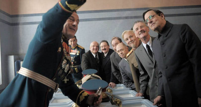Bild från filmen The Death of Stalin.