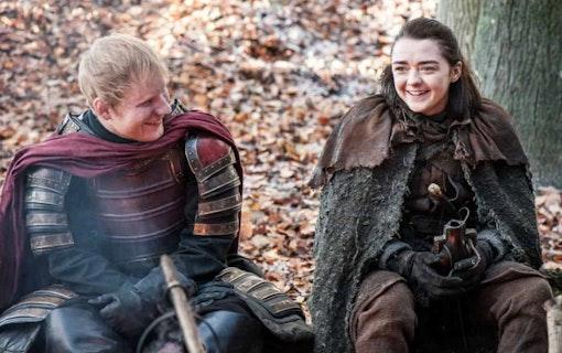 """Ed Sheeran: """"Ingen vill se mig återvända i Game of Thrones"""""""