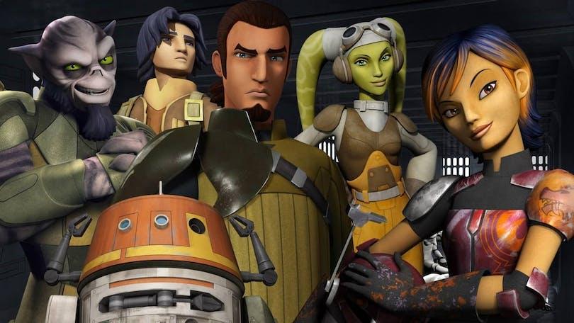"""Ghost-gänget från """"Star Wars: Rebels"""" står samlade"""