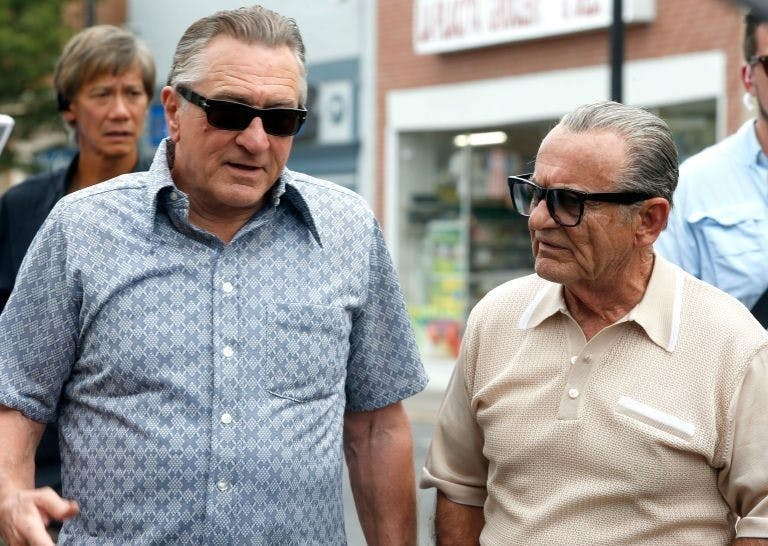 """Robert De Niro och Joe Pesci återförenade framför kameran i Martin Scorseses """"The Irishman"""" –tips på filmer 2019"""