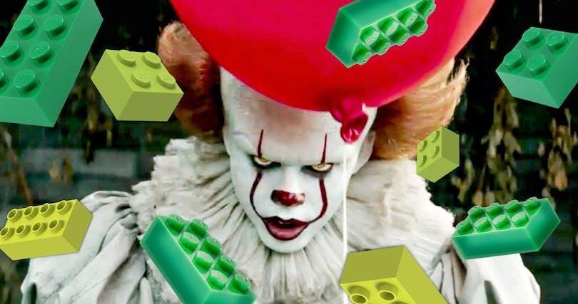 """Skräckfilmen """"Det"""" i LEGO-version"""