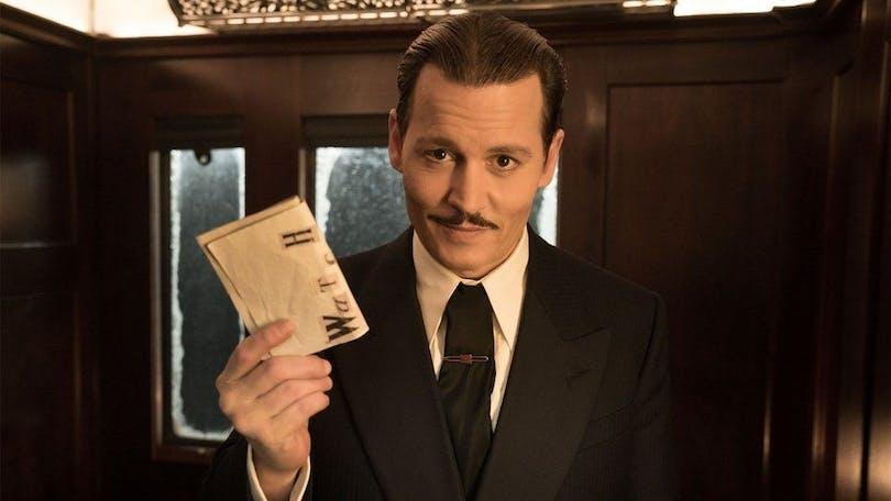 """Johnny Depp i filmen """"Mordet på Orientexpressen"""""""