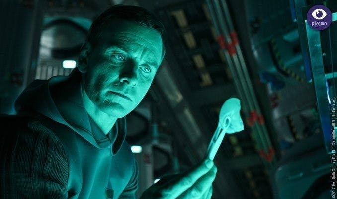 "Michael Fassbender i ""Alien Covenant"""
