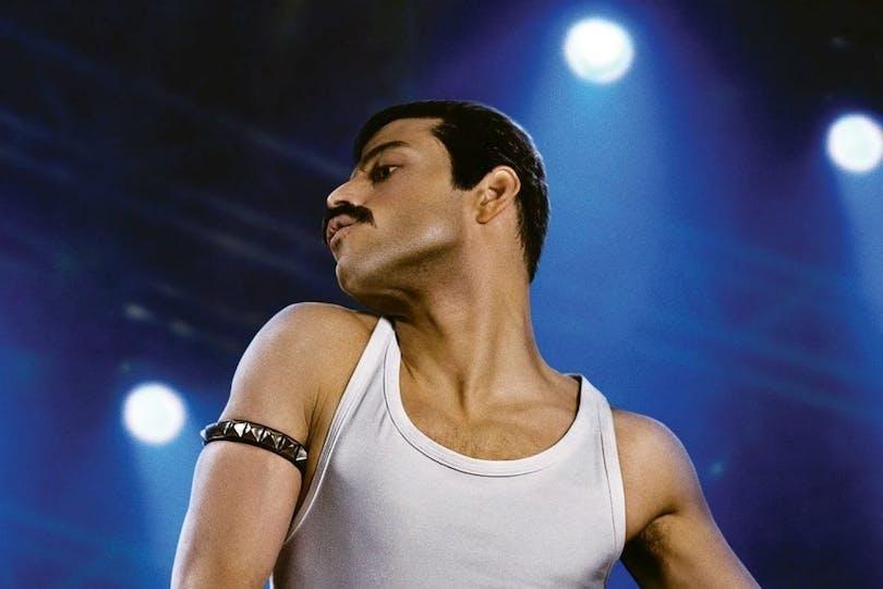 Rami Malek som Freddie Mercury.