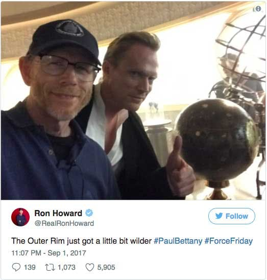 Ron Howard och Paul Bettany