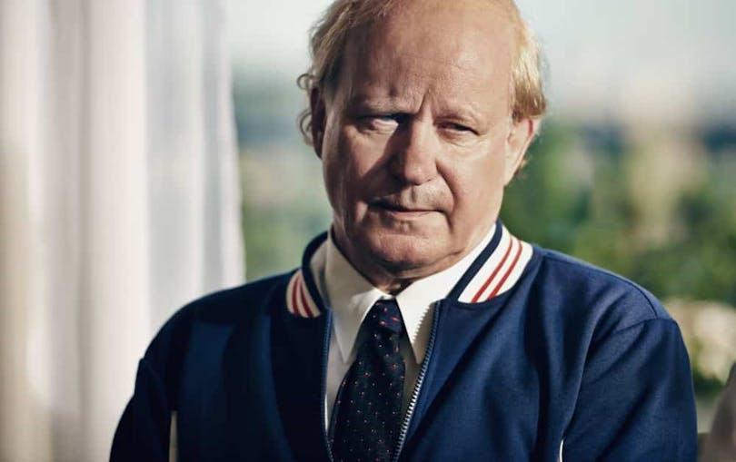 Stellan Skarsgård i rollen som Lennart Bergelin